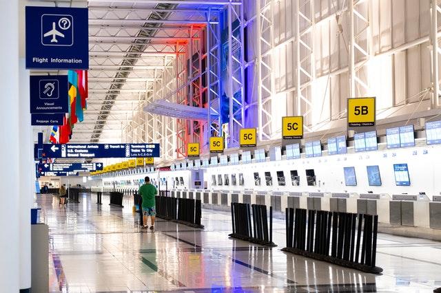 air port Chicago, United States